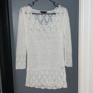 NWT! BCBG White Sweater
